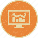 analysis, business chart, chart, graph icon