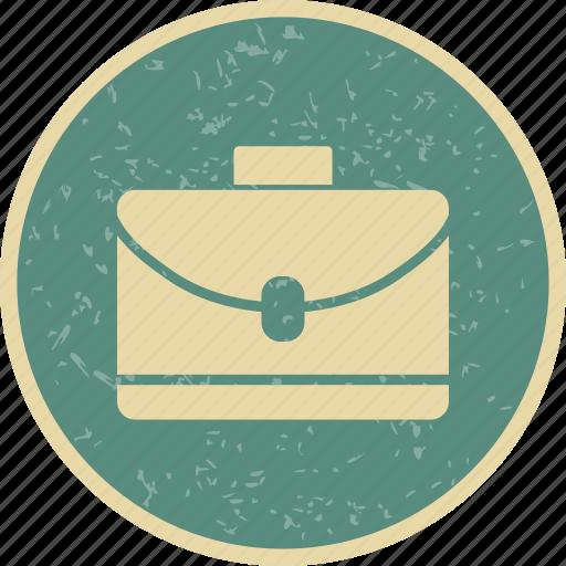 briefcase, documents, portfolio icon