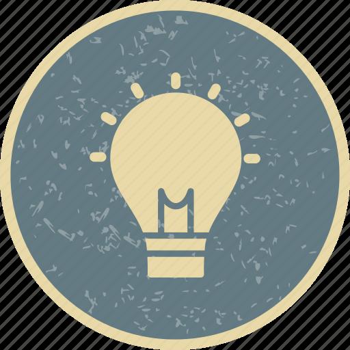 bulb, creativity, idea icon