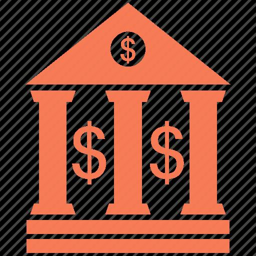 bank, building, government, panteon icon