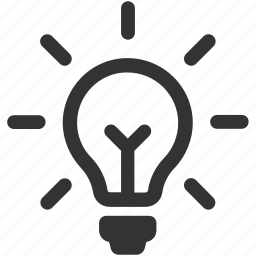 bulb, electricity, energy, idea, innovation, innovative, light icon