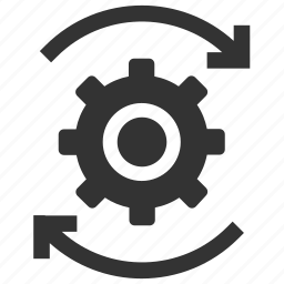 change, cog, move, optimization, options, process, settings icon