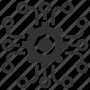 cog, encrypted, encryption, optimization, options, process, settings