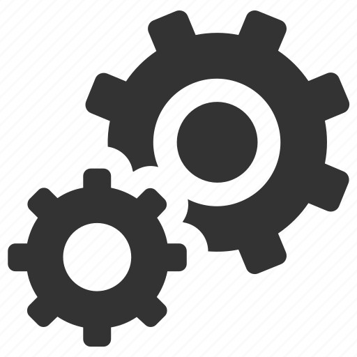 gears, optimization, options, preferences, process, productivity, settings icon