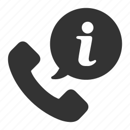 call, dial, help, info, information, phone, support icon