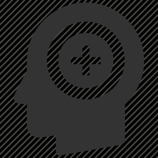 account, add, head, hire, new, plus, profile icon