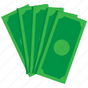 cash, dollar, exchange, money, payment, price, shopping icon