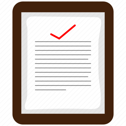 bill, blank, form, general, line, notepaper, paper icon