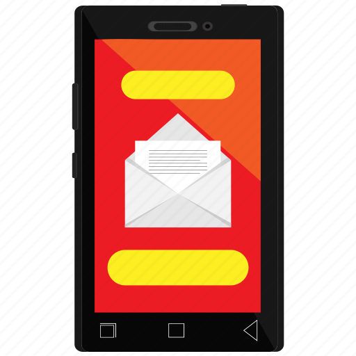 email, envelope, mail, mail send, message, mobile, open icon