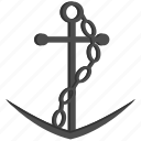 anchor, boat, captain, cruise, industry, sailor, ship icon