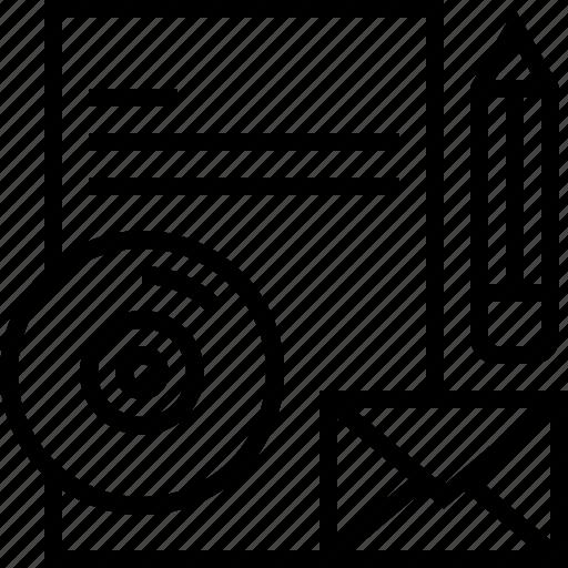 brand, branding, development, identity, pencil, product, ruller icon icon