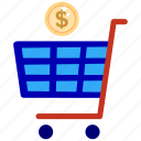 bank, business, cash, finance, office, online store, payment icon