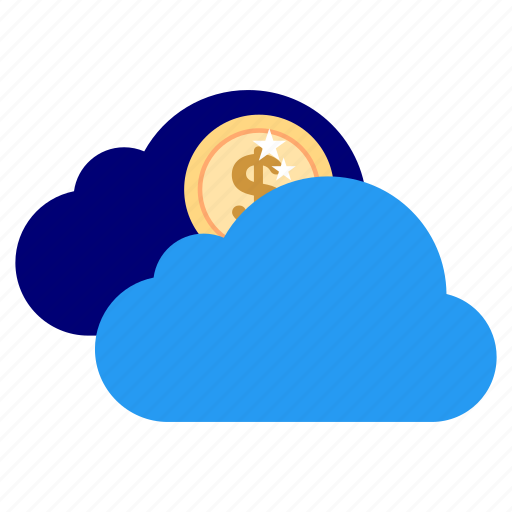 bank, business, clouds, finance, financial, find, office icon