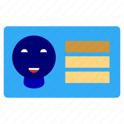 bank, business, card, cash, finance, office, visit cards icon