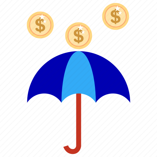 bank, business, finance, income, marketing, money rain, office icon