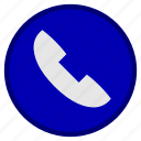 bank, business, call, finance, marketing, office, phone receiver icon