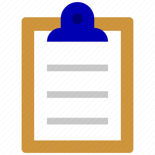 bank, business, finance, list, office, recruitment, writer icon