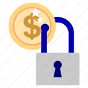 bank, business, finance, guardar, lock, money, office, save icon
