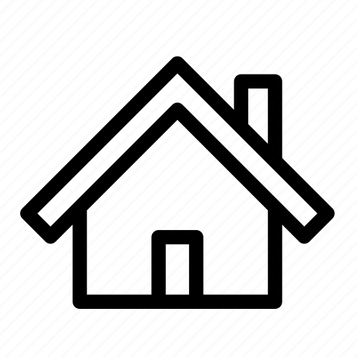 business, collection, home, house, outlines, property, real estate icon