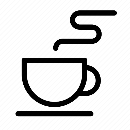 business, coffee, collection, cup, hot, outlines, tea icon