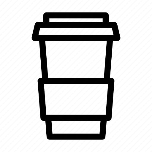 business, caffeine, coffee, collection, drink, outlines, starbucks icon