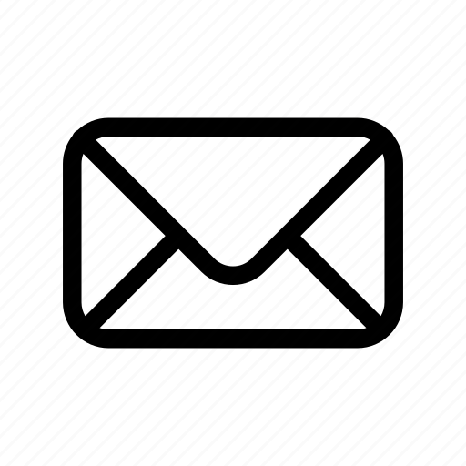 business, collection, envelope, inbox, mail, message, outlines icon