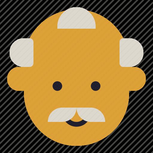 avatar, boss, happy, man, old icon