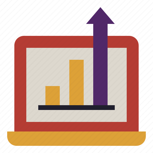 analysis, chart, graph, information, it, research, technology icon