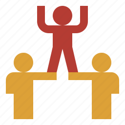 business, colleague, professional, team, teamwork icon