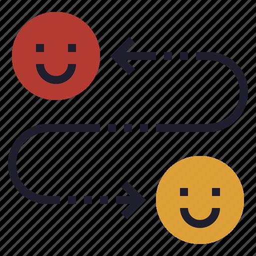 call, chat, communication, telecommuting, transfer icon