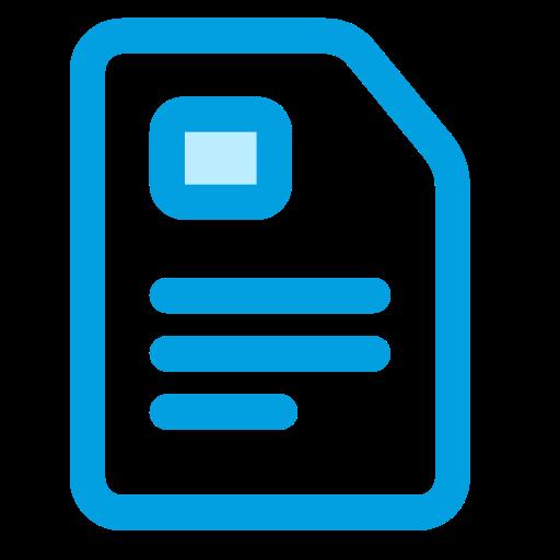business, file, finance, invoice, report icon