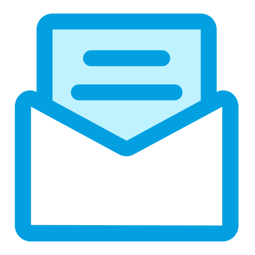 business, envelope, finance, invoice, mail icon