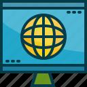 business, computer, global, monitor, trend, worldwide