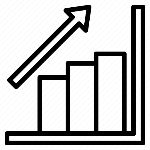 analytics, bar, chart, profits, statistics icon