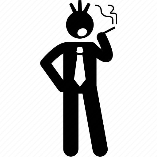 businessman, punk, rebel, rebellious icon
