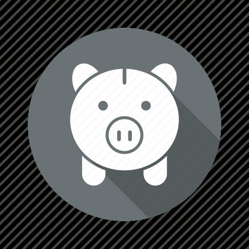banking, finance, invest, money, piggy bank icon