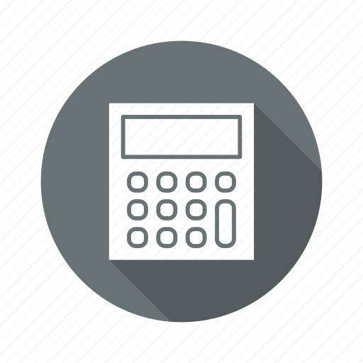 calc, calculator, device, math icon