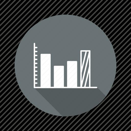 bar, diagram, graph, statistics icon
