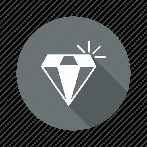 diamond, gem, gemstone, jewel, jewelry icon