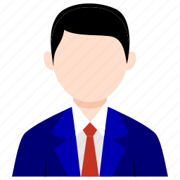 businessman, bussines, bussines icon, man, office, office icon, staff icon