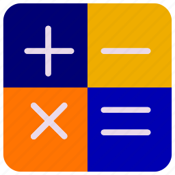 bussines, bussines icon, calculator, counter, number, office, office icon icon