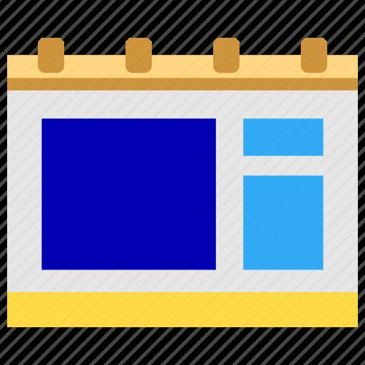 agenda, bussines, bussines icon, calendar, office, office icon, program icon