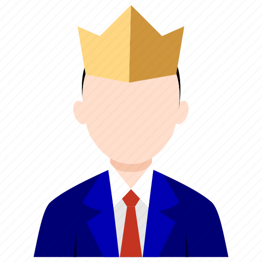 boss, bussines, bussines icon, king, leadership, office, office icon icon