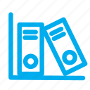 documents, file, files, important, office, shelf icon