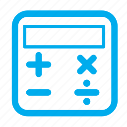 account, calculate, calculation, calculator icon