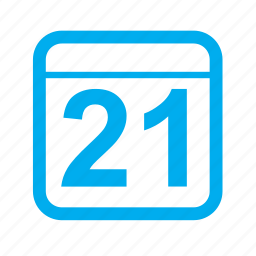 calender, date, time icon