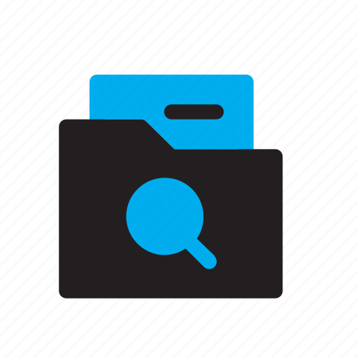 Data, document, file, folder, search, storage icon - Download on Iconfinder