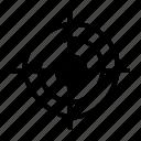 dart, focus, goal, hunting icon, target icon