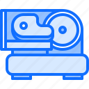 butcher, food, meat, shop, slicer, steak icon