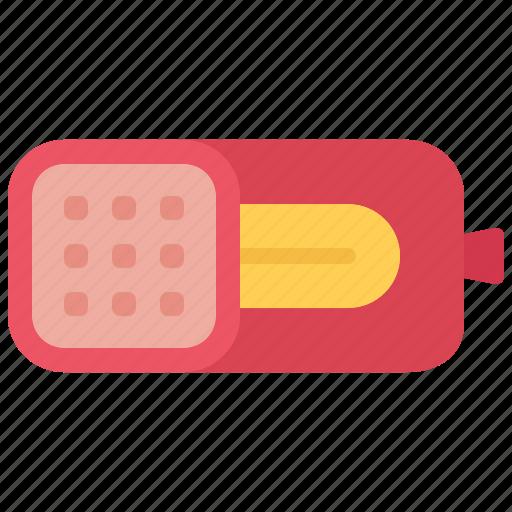 butcher, food, ham, meat, shop icon